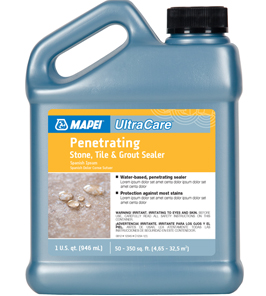 Ultracare Penetrating Stone Tile Amp Grout Sealer Gallon