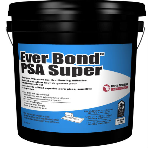 Na Ever Bond Psa Super Adhesive 4 Gal Pressure