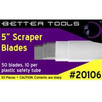 """5"""" Premium Scraper Blades"""