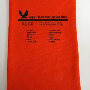 Orange Nail Bag