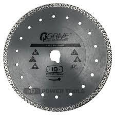"iQTS244 Hard Material 10"" Q-Drive Dry Cut Blade"
