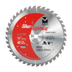 Mercer Industries 711002 Wood Cutting Carbide Blade