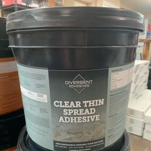 Divergent Clear Thin Spread Adhesive