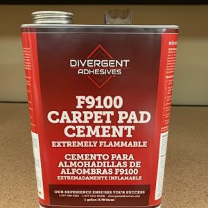 Divergent F9100 Carpet Pad Cement